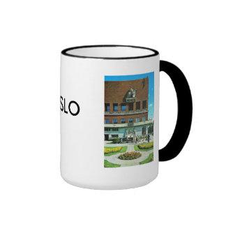 Vintage Norway, Oslo City Hall Coffee Mugs