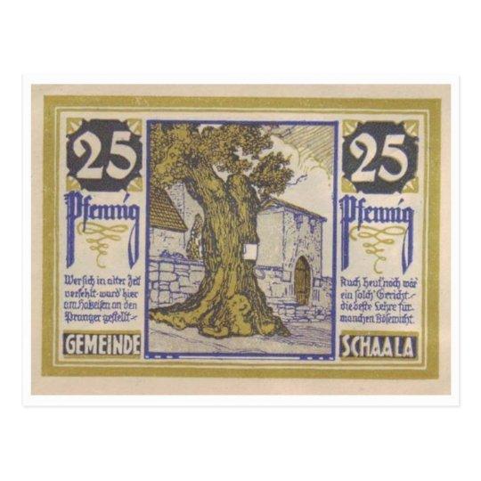 Vintage Notgeld Postcard
