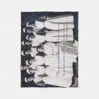 Vintage Nurse Blanket