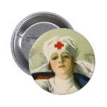 Vintage Nurse Pin