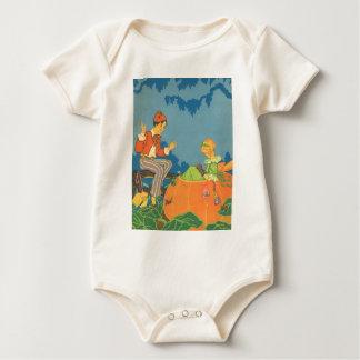 Vintage Nursery Rhyme, Peter Peter Pumpkin Eater Bodysuits