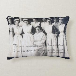 Vintage Nursing Class Pillow