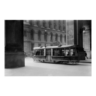 Vintage NYC Street Car Poster