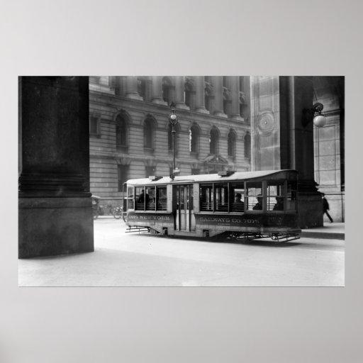 Vintage NYC Street Car Posters