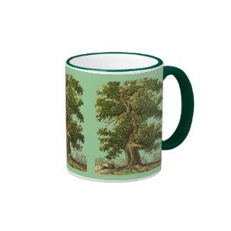 Vintage Oake Trees Coffee Mug