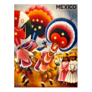 Vintage Oaxaca Mexico Postcard
