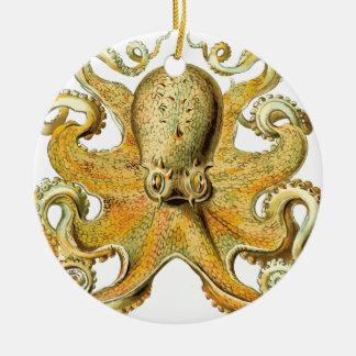 Vintage Octopus Christmas Ornament