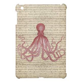 Vintage octopus cover for the iPad mini
