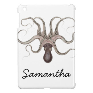 Vintage Octopus Illustration Case For The iPad Mini