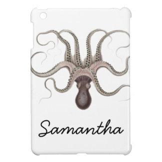 Vintage Octopus Illustration iPad Mini Cases