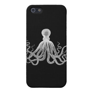 Vintage Octopus iPhone 5/5S Cases