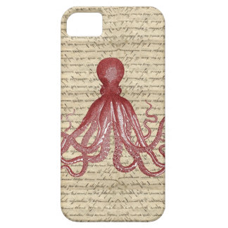Vintage octopus iPhone 5 case