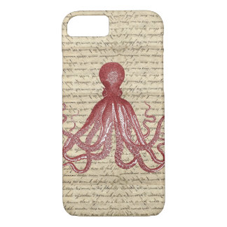 Vintage octopus iPhone 8/7 case