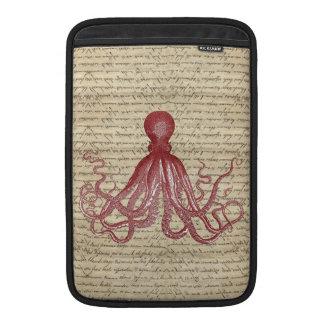 Vintage octopus MacBook air sleeves
