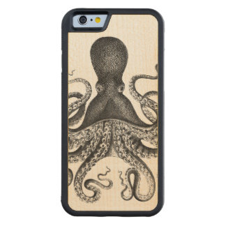 Vintage Octopus Maple iPhone 6 Bumper