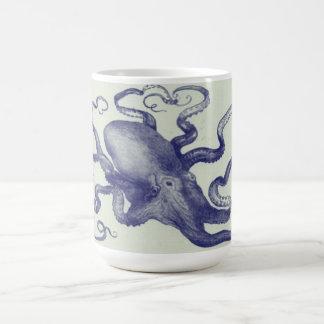 vintage octopus mug