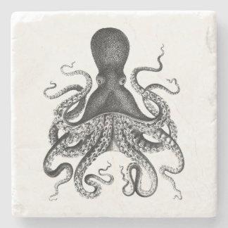 Vintage Octopus Stone Coaster