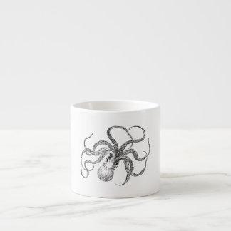 Vintage Octopus Template Espresso Cup
