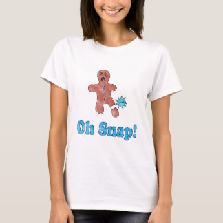 Vintage Oh Snap Gingerbread Man Shirt