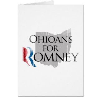 Vintage Ohioans for Romney.png Greeting Card