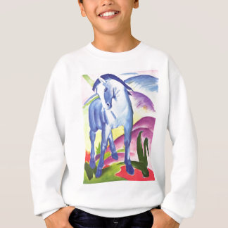 Vintage Oil On Canvas Horse From 1911 Sweatshirt