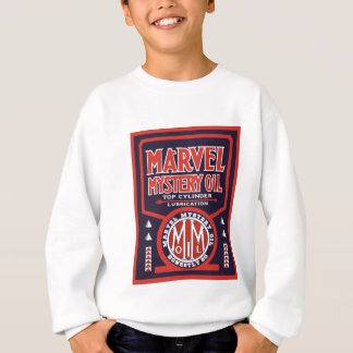 Vintage Oil sign reproduction Sweatshirt