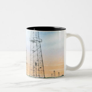 Vintage Oklahoma Two-Tone Coffee Mug