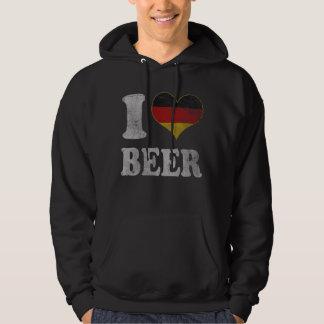 Vintage Oktoberfest I Heart German Beer Hoodie