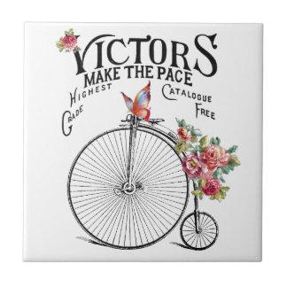 Vintage Old Bike Tile