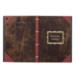 Vintage Old Book Leather-Look Personalised