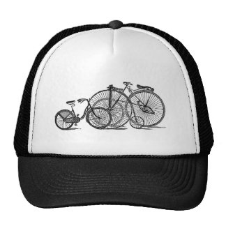 Vintage Old Fashion Bicycle Mesh Hats