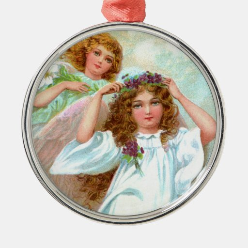 Vintage Old Fashioned Angels Ornament Zazzle