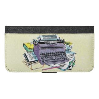 Vintage Old Fashioned Tools of Writer Typewriter