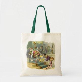Vintage Old King Cole Nursery Rhyme Fairy Tale Bag