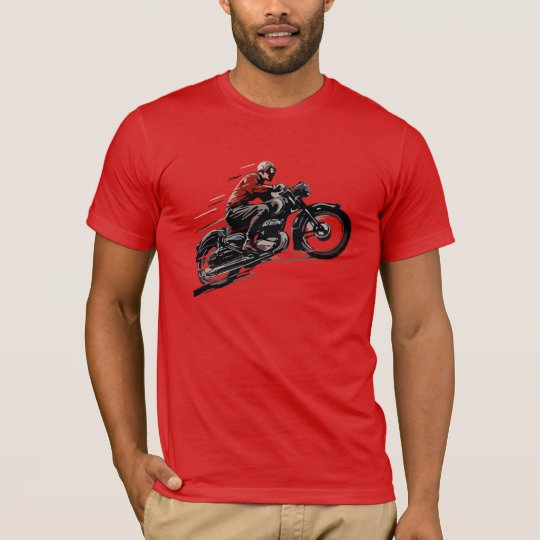 Vintage Old Motorcycle T-Shirt
