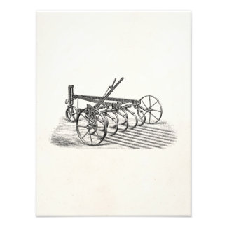 Vintage Old Plows Farm Equipment Agriculture Plow Photo