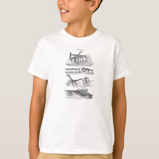 Vintage Old Plows Farm Equipment Agriculture Plow Shirts