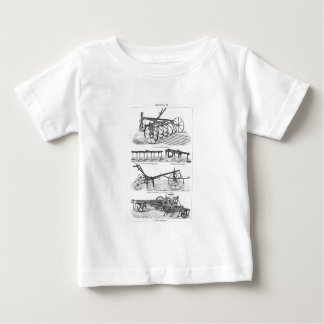 Vintage Old Plows Farm Equipment Agriculture Plow T Shirt