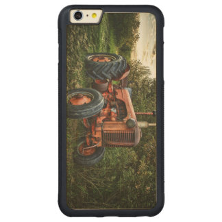 Vintage old red tractor carved® maple iPhone 6 plus bumper case