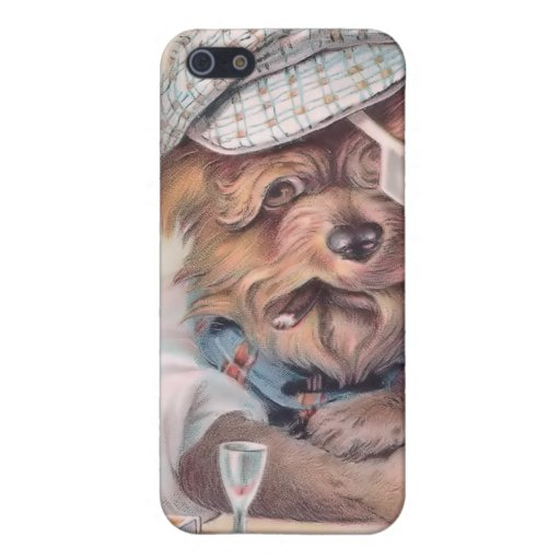 Vintage Old Salty Dog 4  Cases For iPhone 5