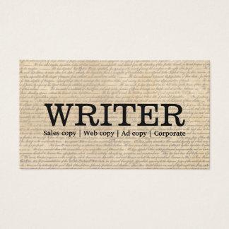 Vintage Old Scripts Freelancing Writer