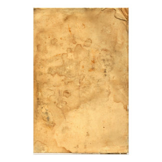 Vintage Old Tea Stained Stationary Stationery Paper