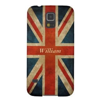 Vintage Old UK Flag - Great Britain Union Jack Galaxy S5 Covers