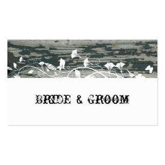 Vintage Old Wood Place Cards Double-Sided Standard Business Cards (Pack Of 100)