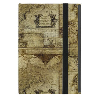 Vintage old world and Antique Maps iPad Mini Covers