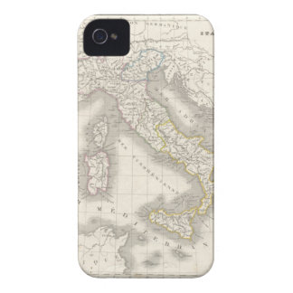Vintage old world Italy map iPhone 4S case