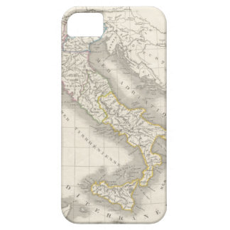 Vintage old world Italy map Italian foodie iPhone 5 Case