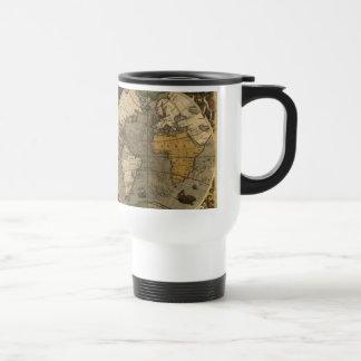Vintage Old World Map Collectors Travel Mug