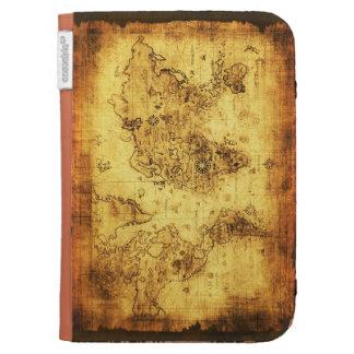 Vintage Old World Map Designer Kindle Case