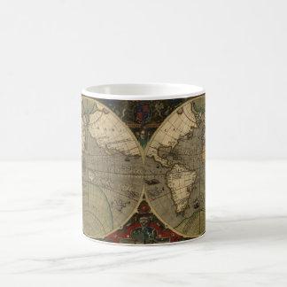 Vintage Old World Map History-buff Mugs